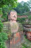 Buda gigante de Leshan, Sichuan, China Imagem de Stock Royalty Free