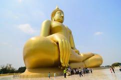 Buda grande Angthong, Tailândia Fotografia de Stock