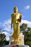 Buda grande, bendición de Buda que camina Mt khokngio imágenes de archivo libres de regalías
