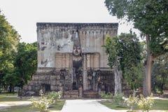 Buda grande de Wat Sri Chum imagem de stock royalty free
