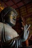 Buda grande em Kofuku-ji, o templo do patrimônio mundial em Nara, Japão Imagem de Stock Royalty Free