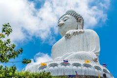 Buda grande em Phuket Tailândia Imagem de Stock