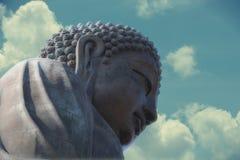 Buda grande en Lantau, Hong Kong Foto de archivo