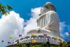 Buda grande en Phuket Tailandia Foto de archivo