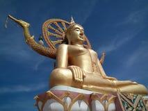 Buda grande en Samui, Tailandia Foto de archivo