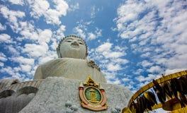 A Buda grande, Phuket, Tailândia Imagens de Stock Royalty Free