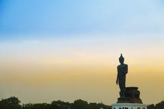 Buda grande por la tarde Fotos de archivo