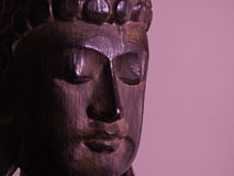 Buda hace frente Fotografía de archivo libre de regalías