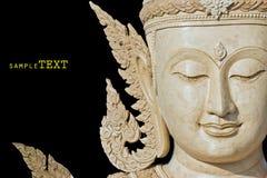 Buda hace frente hace de la cera ilustración del vector