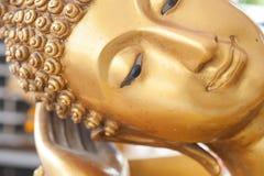Buda hace frente y cabeza de Buda Fotos de archivo libres de regalías
