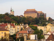 Buda Hill, Budapest, Hongrie Photographie stock libre de droits