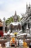 Buda hizo de la plata Fotos de archivo