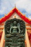 Buda hizo por el jade Fotografía de archivo libre de regalías