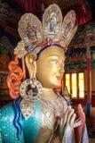 Buda interior en Ladakh Imagen de archivo libre de regalías