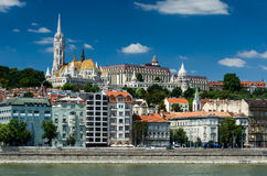 Buda and Matthias Church. Old city of Budapest, Hungary. Stock Photo