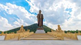 Buda Metta Pracha Thai de Phra ou estátua grande da Buda Imagem de Stock