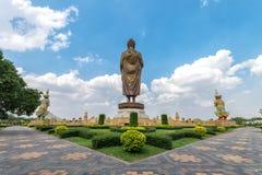 Buda Metta Pracha Thai de Phra ou estátua grande da Buda Fotografia de Stock Royalty Free