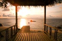 Buda morzem Zdjęcia Royalty Free
