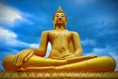Buda muy grande, oro hermoso fotografía de archivo libre de regalías