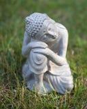 Buda na grama Fotografia de Stock