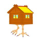Buda na kurczaku iść na piechotę kreskówkę Zdjęcie Stock