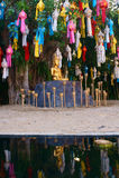 Buda na pedra Fotos de Stock Royalty Free