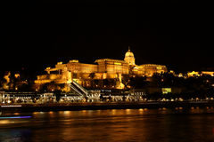 Buda in the night Royalty Free Stock Photo