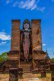 Buda no parque histórico Tailândia do sukhothai Imagens de Stock