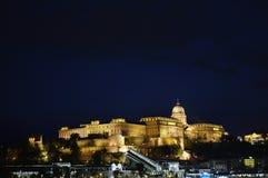 Buda nocą Obraz Royalty Free