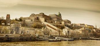 Buda okręg Budapest, Węgry Fotografia Royalty Free