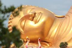 Buda, ouro, céu, bonito, amarelo Imagem de Stock