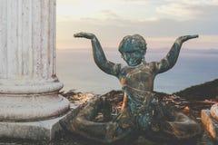 Buda på stranden - Stillahavs- sida Costa Rica Arkivbild