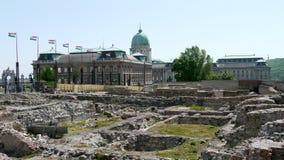 Buda Palace Arkivfoto