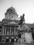 Buda Palace, Boedapest, Hongarije Royalty-vrije Stock Afbeeldingen