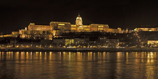 Buda Palace or Castle Stock Photos