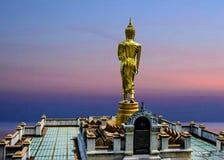 Buda permanente en Wat Phra That Khao Noi, NaN, Tailandia imágenes de archivo libres de regalías