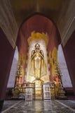 Buda permanente Kassapa en el templo de Ananda adornó en Bagan, Myanmar Fotografía de archivo libre de regalías