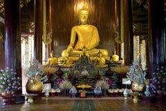 Buda Phan Tao, Chiang Mai Imagem de Stock Royalty Free