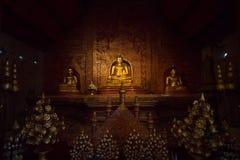 A Buda, Phra Singha em Wat Phra Singh Woramahaviharn, Tailândia Imagens de Stock Royalty Free