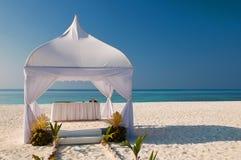 buda plażowy ślub zdjęcia royalty free