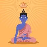 Buda plano Imagenes de archivo