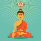 Buda plano Imágenes de archivo libres de regalías
