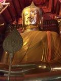 Buda que se sienta de oro Imagenes de archivo