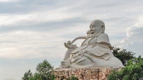 Buda que se sienta grande Imágenes de archivo libres de regalías