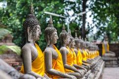 Buda quebrado Imagen de archivo libre de regalías