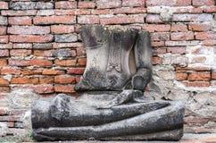 Buda quebrado Imágenes de archivo libres de regalías