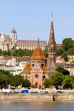 Buda Reformed Church in Budapest Royalty Free Stock Photo