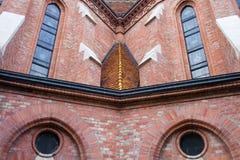 Buda reformou detalhes arquitectónicos da igreja Foto de Stock