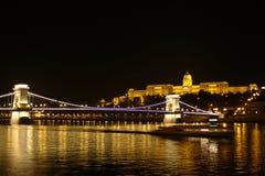Buda Schloss stockfotografie