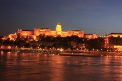 Buda Schloss in Budapest Stockfoto